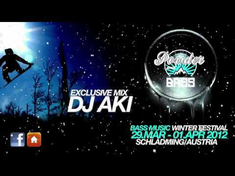 DJ Aki — Mix for Powder&Bass 2012