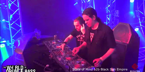 World of Drum&Bass — State of Mind b2b Black Sun Empire [2015-09-19]