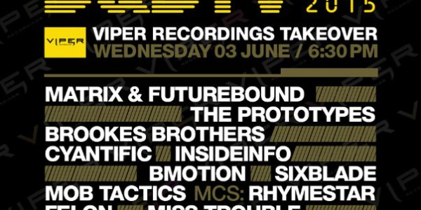 D&BTV Live Viper Recordings Takeover (2015-06-10)