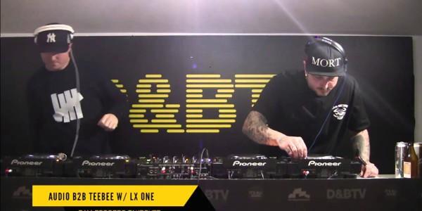 D&BTV Live #213 RAM Records takeover — Audio b2b TeeBee