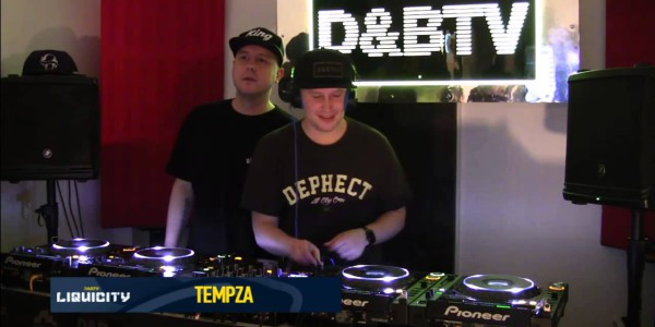 D&BTV Live #215 Liquicity takeover — Hybrid Minds (2015-11-06)