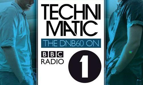 Technimatic — DNB60 @ BBC Radio 1 (20.07.2015)