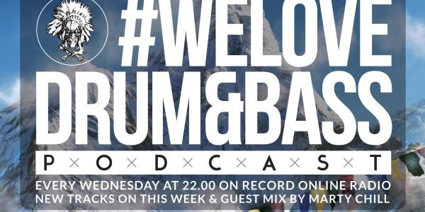 Gunsta Presents — WeLoveDrumBass PodcastMarty Chill Guest Mix (2016-01-14)