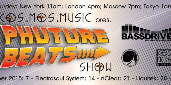 Phuture Beats Show 01-08 @ Bassdrive (2015)