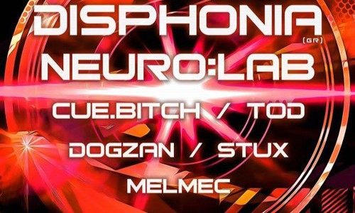 Disphonia Live @ Chapeau Rouge CZ , 20.2.16 — HIT THE FLOOR! /w Neuro:lab