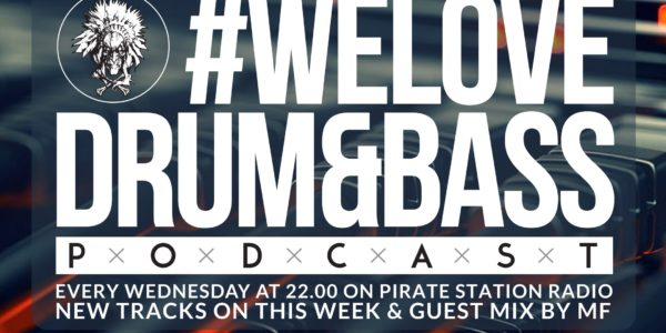 Gunsta Presents #WeLoveDrum&Bass Podcast #119 & MF Guest Mix (2016-10-12)