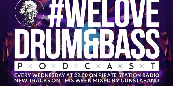 Gunsta Presents #WeLoveDrum&Bass Podcast #129 Gunstaband Mix (2016-12-21)