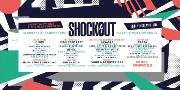 Shockout Cast 2018 (2018/02/15)