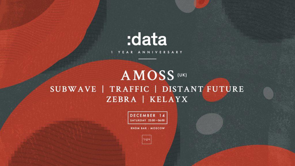 14.12 :data w/ AMOSS (UK) @RNDM (Москва)