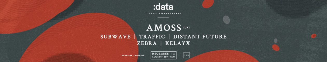14.12 :data w/ AMOSS (UK) @RNDM